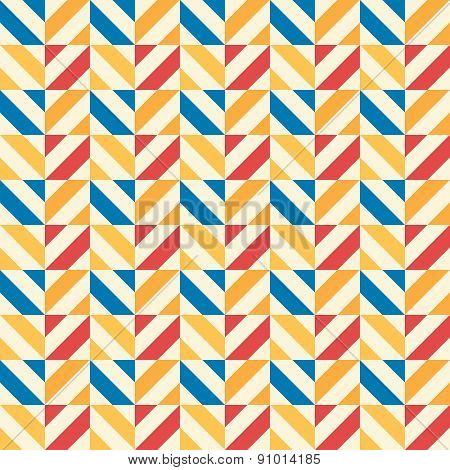 Retro kid vector seamless pattern. Endless texture