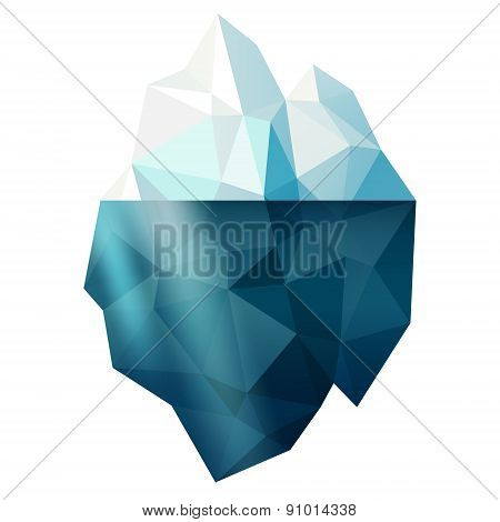 Isolated Iceberg