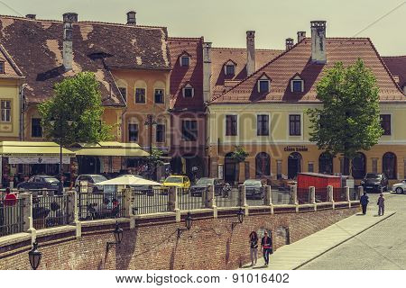 Little Square, Sibiu, Romania