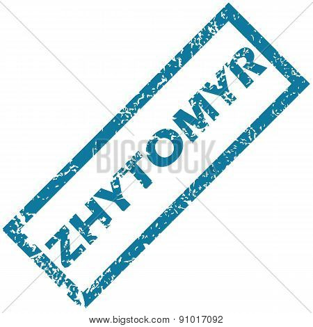 Zhytomyr rubber stamp