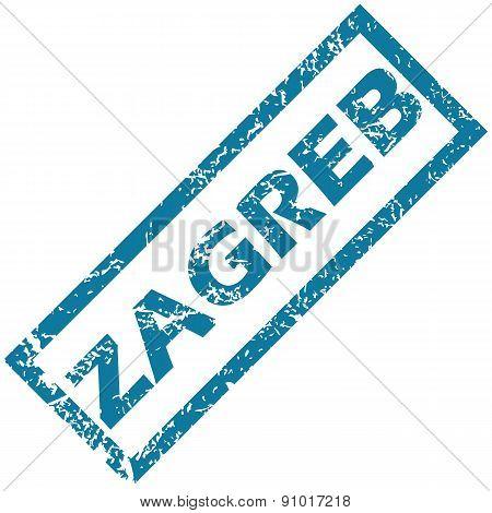 Zagreb rubber stamp