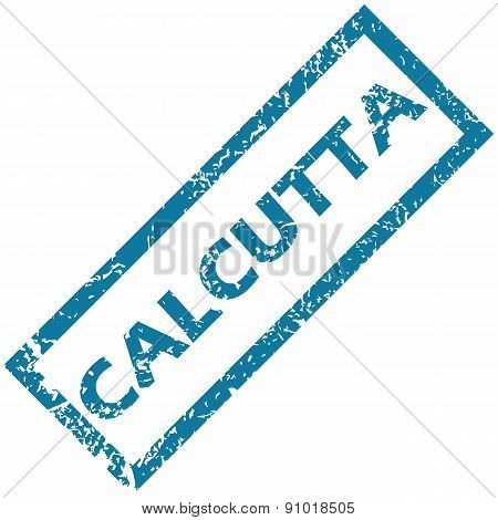 Calcutta rubber stamp