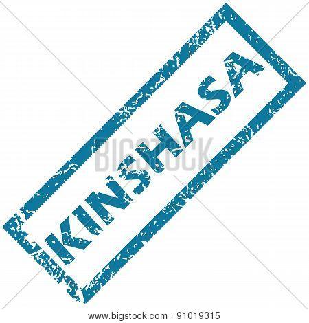 Kinshasa rubber stamp