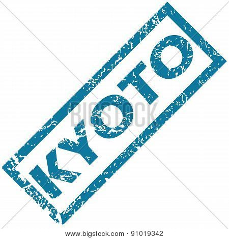 Kyoto rubber stamp