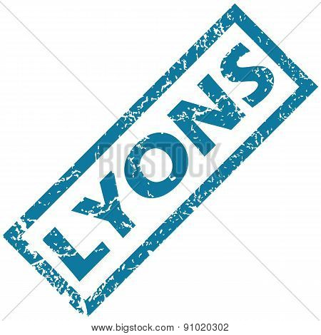 Lyons rubber stamp