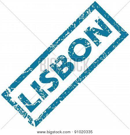 Lisbon rubber stamp