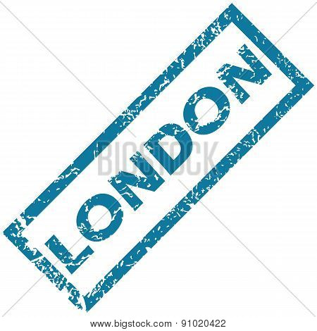 London rubber stamp