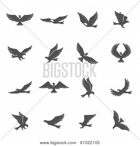 Eagle Icons Set