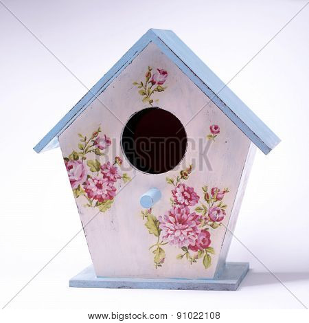 Wooden Colorful Bird House