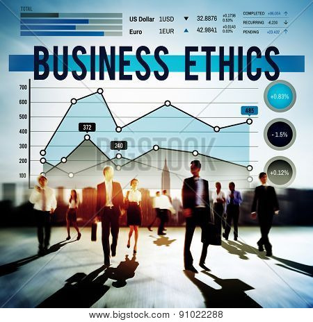Business Ethnics Ideology Integrity Legal Concept