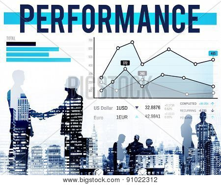 Performance Efficiency Expert Potential Figures Concept