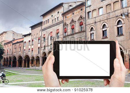 Tourist Photographs Piazza Santo Stefano, Bologna
