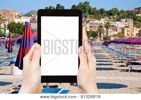 Photo Of Urban Sand Beach On Sicily