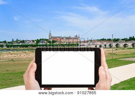Tourist Photographs Of Gien City, France