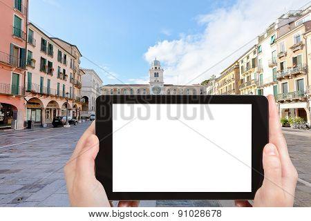 Tourist Photographs Of Piazza Dei Signori, Padova