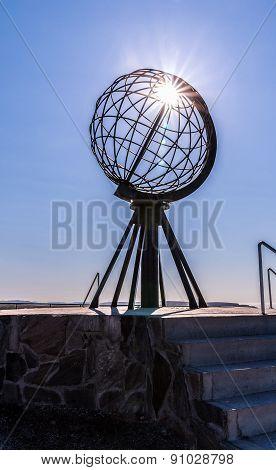 Nordkapp Globe Sculpture