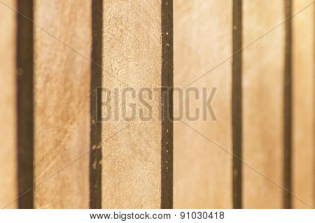 Planks Of Mahogany In Detail