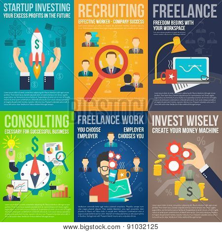 Business Poster Set