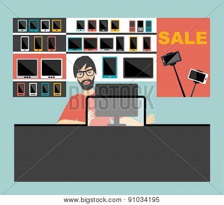 Electronic Salesman.
