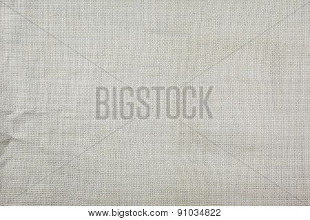 Natural Linen Fabric Texture White