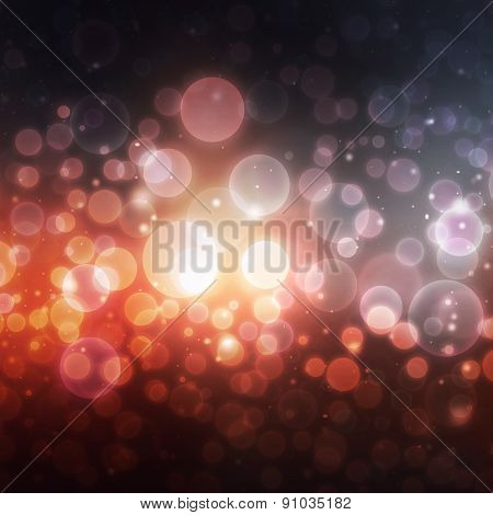 Abstract bokeh shiny background