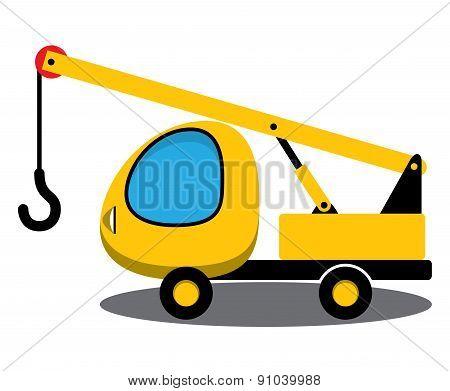Toy crane.