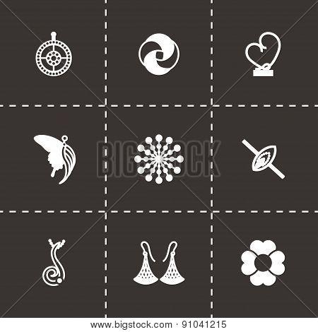 Vector Jewellery icon set