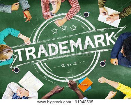 Trademark Branding Advertising Copyright Concept
