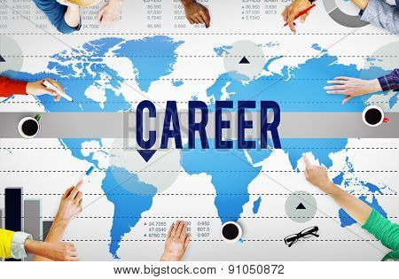 Career Job Occupation Business Marketing Concept