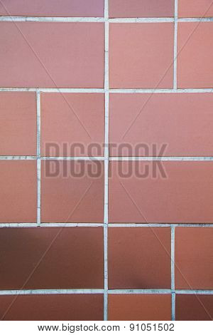 Orange Tile Patern