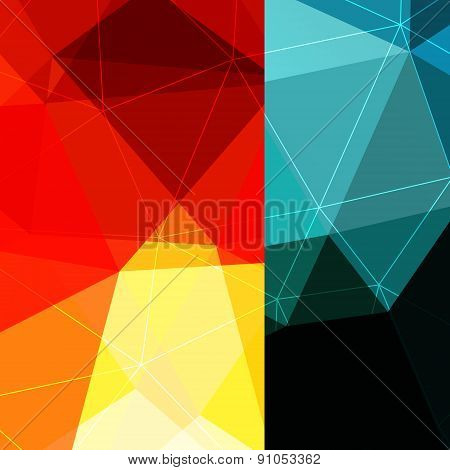 Color Block Background