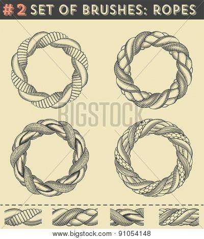 Set of brushes #2: Ropes