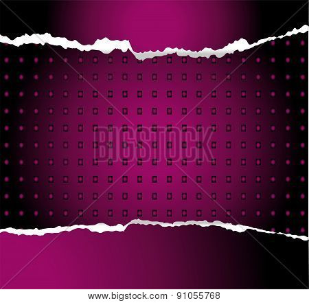 Purple abstract technology background