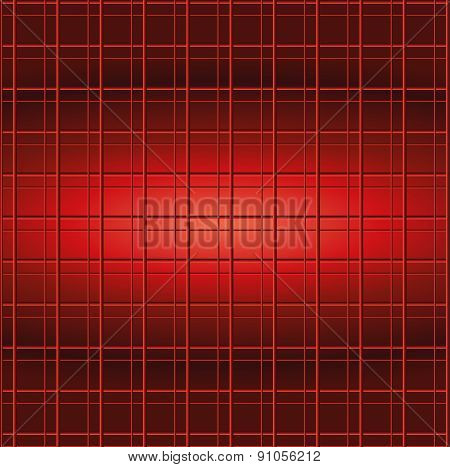 Red Abstract Squares Vector Background