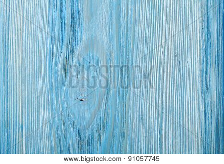 Country blue wooden table background texture