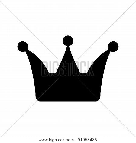 The Crown Icon. Crown Symbol