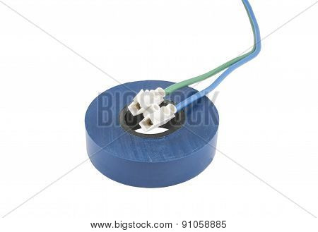 Electric Cables With Terminals And Insulating Tape