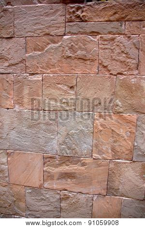 Wall of granite