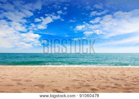 sandy beaches
