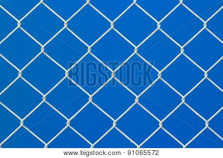 Iron Net For Background And Texture