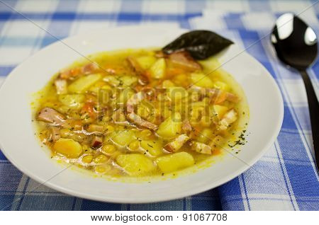 Soup With Bacon