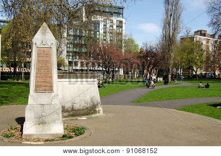 Churchyard park, Bermondsey, London