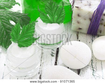 organic facial cream