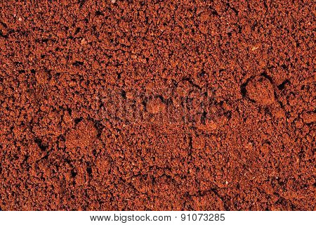 Ground Coffee Background
