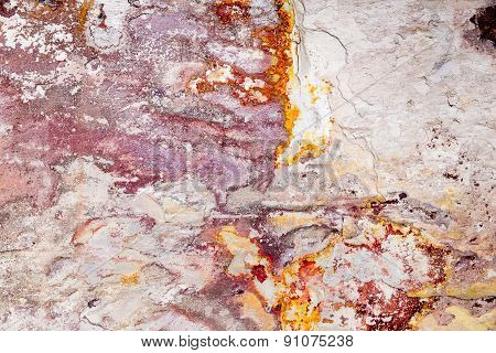 Grunge structure painted on stone, can be used as background
