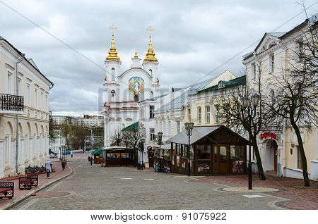 View Of The Voskresenskaya (rynkovaya) Church, Vitebsk, Belarus