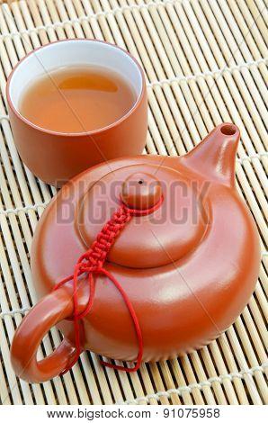 Chinese Hot Tea.