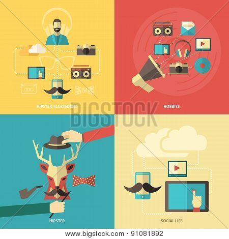 Hipster Design Concept