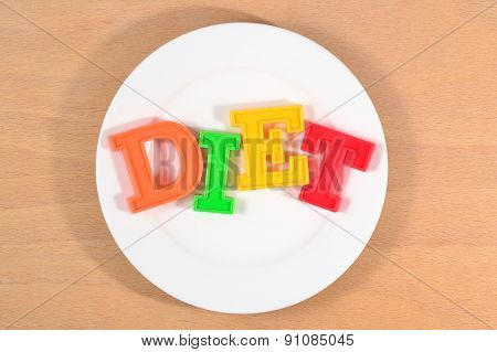 Diet On The Plate
