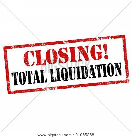 Closing!total Liquidation